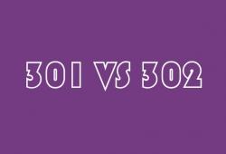 301和302重定向的区别(302重定向是什么意思?)